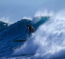 Long Boarder At Snapper Rocks #2 by Noel Elliot