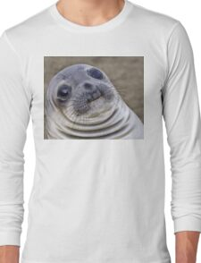 Fat seal sticker Long Sleeve T-Shirt
