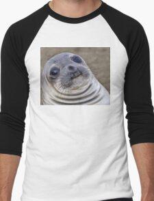 Fat seal sticker Men's Baseball ¾ T-Shirt