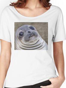 Fat seal sticker Women's Relaxed Fit T-Shirt
