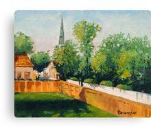 Fences to Faith Canvas Print