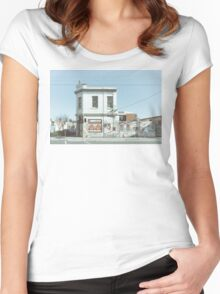 Richmond, Melbourne Women's Fitted Scoop T-Shirt