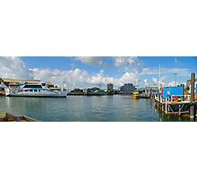 Magnetic Island Barge - Ross Creek - Townsville Photographic Print