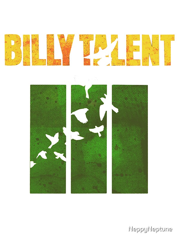 Quot Billy Talent Shirt Billy Talent Iii Quot Stickers By