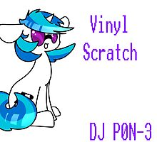 Vinyl Scratch by unideer