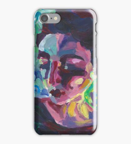 Ally - Portrait of a young woman iPhone Case/Skin
