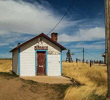 Powderville Post Office by dkpenman