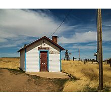 Powderville Post Office Photographic Print