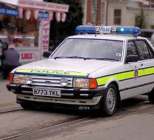 Police Mk2 Ford Granada 2.8i by larry flewers