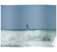 Surf Yacht Poster
