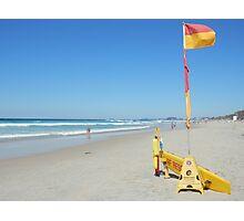 Surf Rescue Broadbeach 19 April 2014 Photographic Print