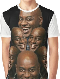 Stack of Ainsley Harriott Graphic T-Shirt