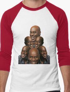 Stack of Ainsley Harriott Men's Baseball ¾ T-Shirt