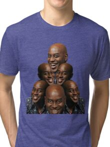 Stack of Ainsley Harriott Tri-blend T-Shirt