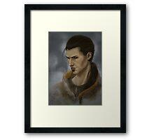 Skyrim Companion~Marcurio2 Framed Print