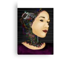 Cyborg in disguise Canvas Print