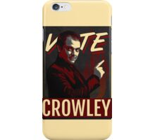 Vote Crowley for King of Hell iPhone Case/Skin