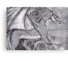 Ryu the dragon Canvas Print