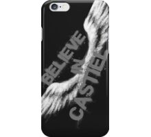 Believe in Castiel -- light graffiti iPhone Case/Skin