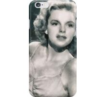 Judy Garland by John Springfield iPhone Case/Skin
