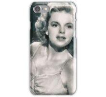 Judy Garland by John Springfield iPhone Case/Skin