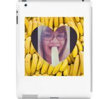 Never Make Eye Contact When Eating A Banana iPad Case/Skin