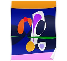 Abstract Play Poster
