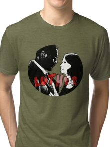 LUTHER: John & Alice Tri-blend T-Shirt