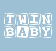 Twin Baby A One Piece - Short Sleeve