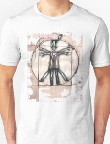 The Vitruvian mad hatter (collaboration with Blake) Unisex T-Shirt