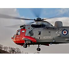 Sea King Helicopter Photographic Print