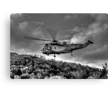 Sea King Helicopter Canvas Print
