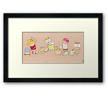 Rules for a good life III Framed Print