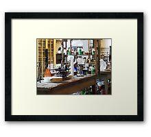 Chem Lab Framed Print