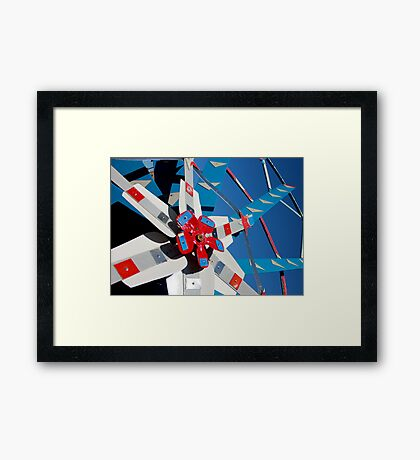 Whirligig Top 5 Framed Print