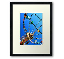 Whirligig Top 6 Framed Print