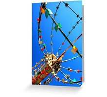 Whirligig Top 6 Greeting Card