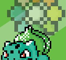 Bulbasaur Pixel Art by ProjectPixel