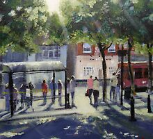 Waiting for a Bus Market Place Ripley by ruthgray
