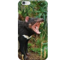 Devil's yawn iPhone Case/Skin