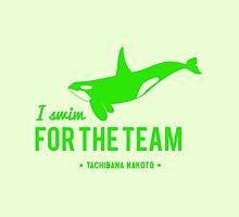 For The Team - Tachibana Makoto by chocobohead