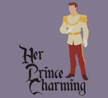 Her Prince Charming - Cinderella Couples Shirt for Men by rockinbass85