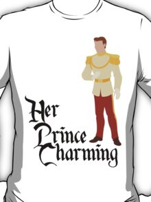 Her Prince Charming - Cinderella Couples Shirt for Men T-Shirt