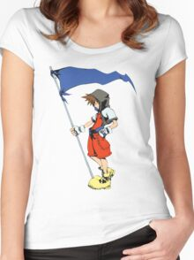 Sora Women's Fitted Scoop T-Shirt