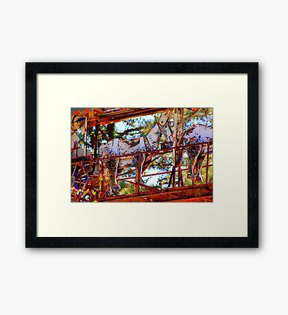 Lucama Whirligig 3 Framed Print