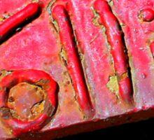 Vollis Signature in Red Sticker