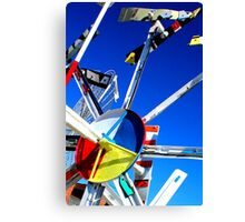 Whirligig Top 7 Canvas Print