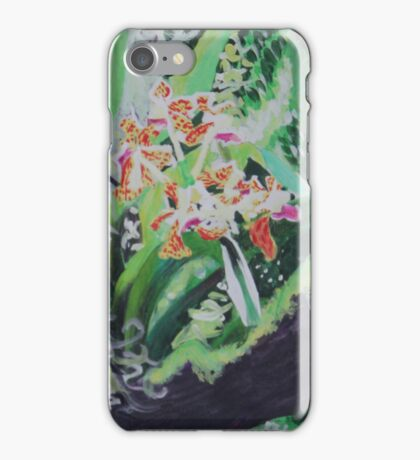 Watercolor Orchids  iPhone Case/Skin