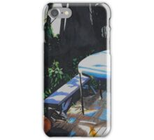 Watercolor Pencil Table iPhone Case/Skin