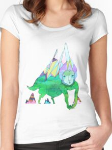 Over The Mountain Women's Fitted Scoop T-Shirt